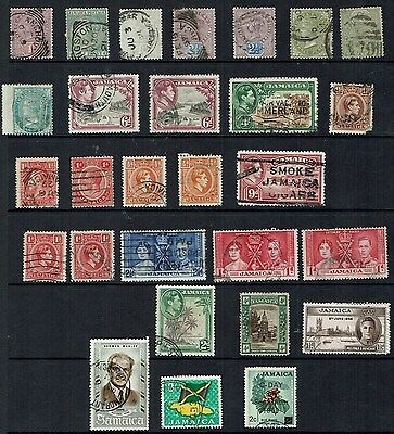 Jamaica  Stamps  small collection                                       jamaica6