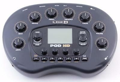 Line 6 Pod HD Multi-Effects Pedal *No Power Supply* PD-3345