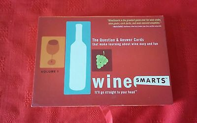 Wine Smarts Question & Answer Card Game, Make Learning About Wine Easy & Fun CH