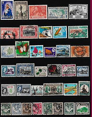 SOUTH AFRICA Stamps , Rhodesia Stamps, Southern & Northern Rhodesia Stamps