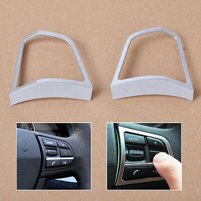 For BMW 5 Series F10 F07 520 528 535 530d 535-Steering Wheel Switch frame Trim*2