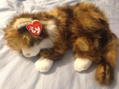 TY Beanie Large Cat Toy, New with Tag