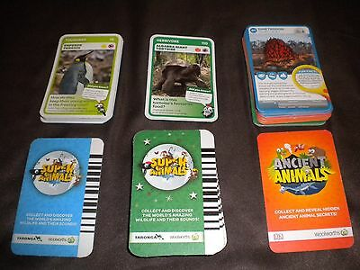 Woolworths Super animals & Ancient animals bulk lot of 101 cards