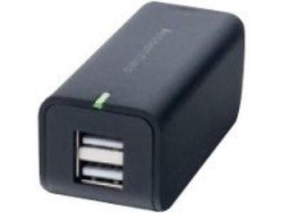 IESSENTIALS IE-ACP2U-BL 2.1-Amp Dual USB Home Charger (Blue)