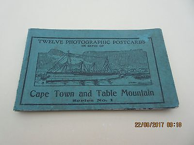 Vintage book of postcards - Cape Town