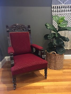 Antique / Vintage Edwardian Arm Chair - Mulgrave