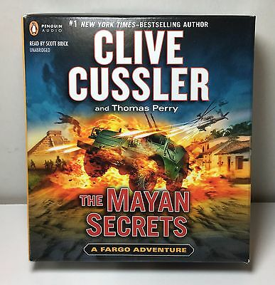 Audio Cd The Mayan Secrets By Clive Cussler And Thomas Perry Unabridged#