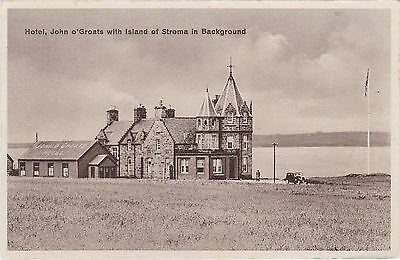 Hotel With Island Of Stroma In Background, JOHN O' GROATS, Caithness