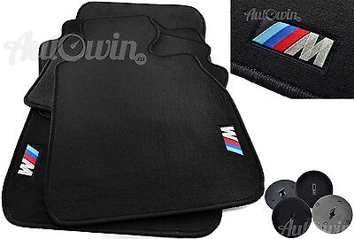 BMW M ///  Floor mats With M Emblem LHD Vehicle TAILORED 1990-2017 Models