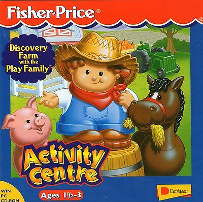 DISCOVERY FARM | Fisher Price activity centre | age 3 | WIN 95,98,XP