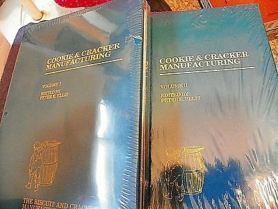 RARE Cookie & Cracker Manufacturing Volume I & Volume II 1 & 2 by Ellis HC BOOK