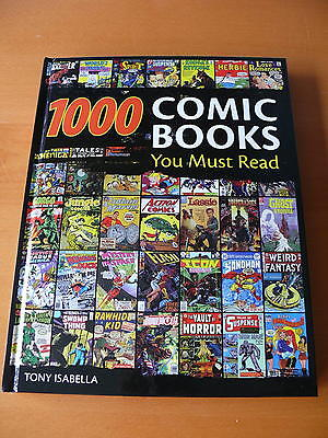 1000 Comic Books  You Must Read. Hardcover.     Mint