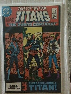 The New Teen Titans Comic #44 FIRST APPEARANCE OF NIGHTWING VF/NM