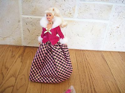 Barbie Winter Rhapsody Blonde Special Edition Avon Exclusive Mattel New w/out Bo