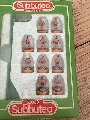 Subbuteo LW Team - Dundee United - (Set 377) - Very Rare