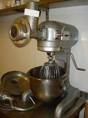Hobart Mixer A120 With Bowl And Attachments