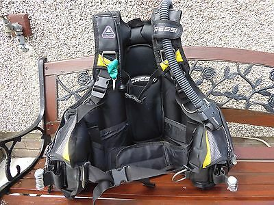 Bouyancy Compensator L, Cressi Travelight, SCUBA, Intergrated weight pockets