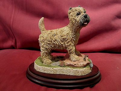 Beautiful Cairn Terrier Dog Figurine - Best Of Breed By Naturecraft
