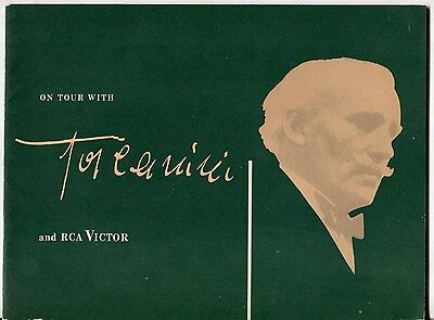 "Vintage RCA & NBC Promo Publication: ""On Tour With Toscanini And RCA Victor"""