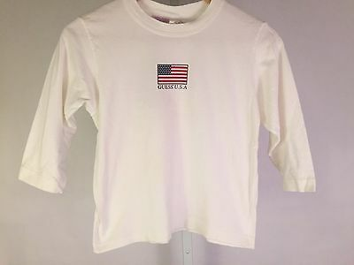 VTG GUESS USA Long Sleeve Graphic Size XL YOUTH 6 - 6X/7
