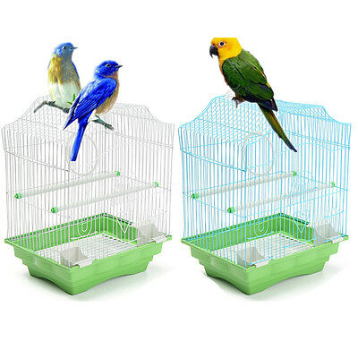 Bird Cage Small Play Top Bird Parrot Finch Cage Macaw Cockatoo Pet Budgies US