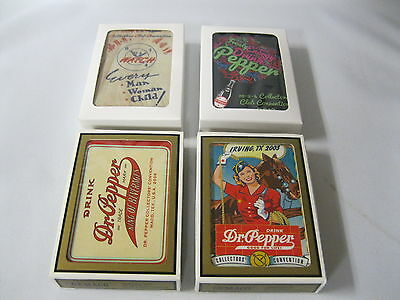 Dr Pepper 10-2-4 Collectors Club Convention Cards 2003, 2006, 2016, 2017