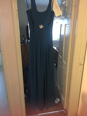 Petrol Blue Evening Gown Size 10-14