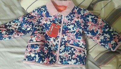 Joules padded jacket. 9-12m. NEW
