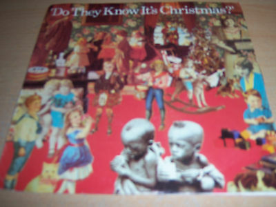 """Band Aid(7"""") Do They Know It's Christmas-1984- B/w Feed The World-Mercuryfeed1."""