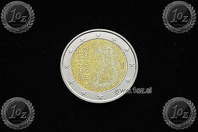 FINLAND 2 EURO 2017 (100 anni INDEPENDANCE) Commemorative Coin * UNCIRCULATED