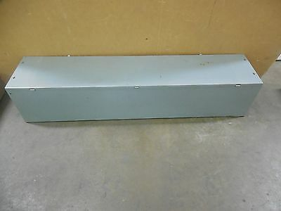 """Square D 12""""x12""""x60"""" Steel Wire Way Auxiliary Wire Gutter Trough"""