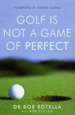 Golf is Not a Game of Perfect,New Condition