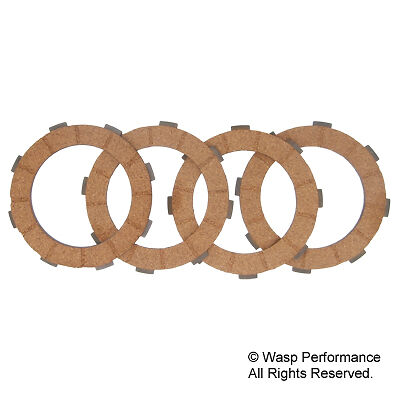 Genuine Piaggio Cosa Type II Clutch Friction Plate Set - Vespa PX 1998 onwards