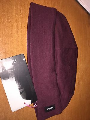 New RAPHA MERINO WOOL CAP HAT  Bike Cycling Beanie Purple