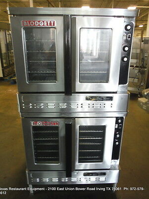 Blodgett DFG-100-3 Gas Double Stack Full Size Convection Oven
