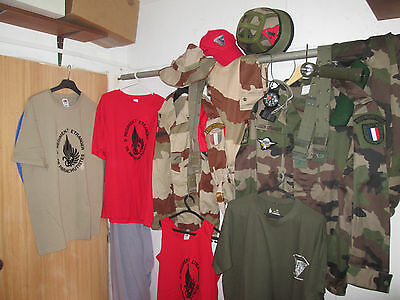 French Foreign Legion 2 REP-2cie- two uniform combat