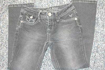 Youth Size 7R--Justice Brand Dark Denim Jeggings-Excellent