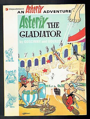 Astérix The Gladiator - Goscinny & Uderzo - Dargaud - Hodder Stoughton - 1974