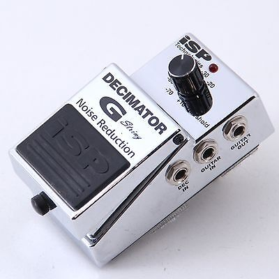 ISP Decimator G-String Noise Gate Guitar Effects Pedal P-00704