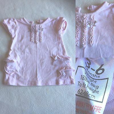 Baby Girls Clothes 3-6 Months - Cute T Shirt  Top -