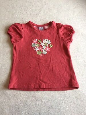 Baby Girls Clothes 3-6 Months - Pretty T Shirt Top -