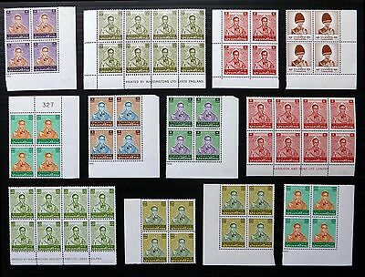 THAILAND 1981/7 Various Multiples All U/M AD216