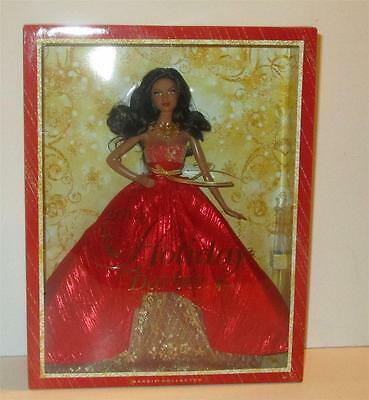2014 Holiday Barbie Collector African American Doll NIB