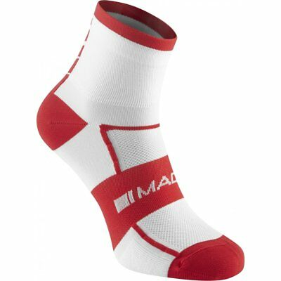 Madison Sportive Men's Mid Cycle Cycling Bike Socks - Twin Pack (2 Pairs)
