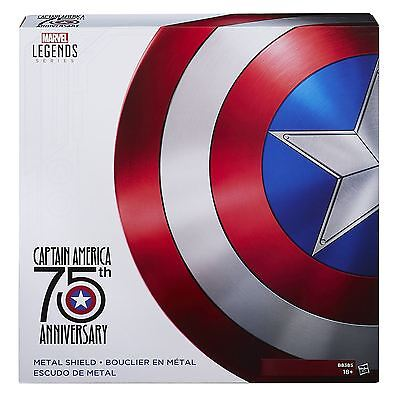 75th Anniversary Metal Shield - Captain America - Marvel Legends