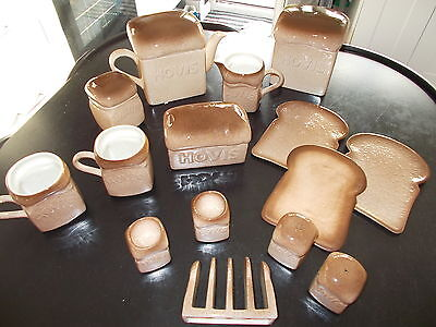 Large Collection of 1980's Carlton Hovis Ware