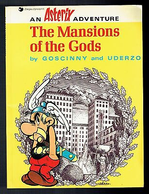Astérix The Mansions of the Gods - Goscinny & Uderzo - Hodder Stoughton - 1974