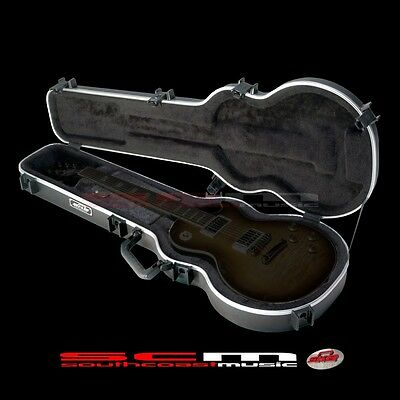 SKB-56 Les Paul Electric Guitar Hard Case Moulded ABS Case w/ TSA Locks Hardcase