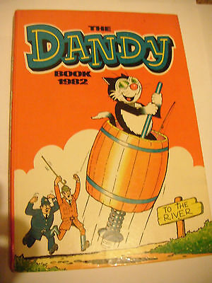 Dandy Book 1982 ,The - Annual - Hardback - Unclipped
