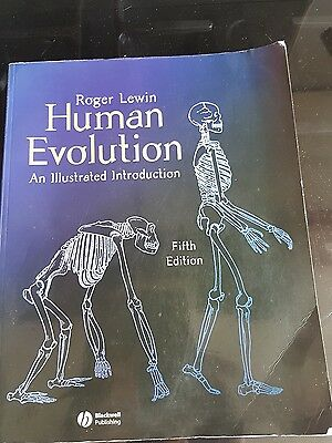 Human Evolution: An Illustrated Introduction by Roger Lewin (Paperback, 2004)